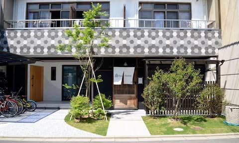 【Kyoto Nishijin】 Expo Hostel Ori Room4
