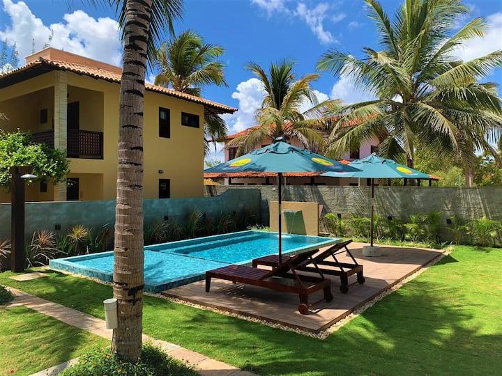 Sombra do Coqueiro (Chalé 02 suites 72m²)