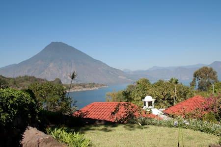 Beautiful house at Lake Atitlan