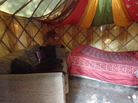 Magical Yurt in Urban Garden