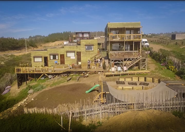 Pupuya Surf House (2 a 4 personas)