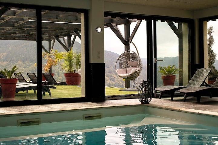Etoile des neiges Ventron, piscine, sauna, fitness