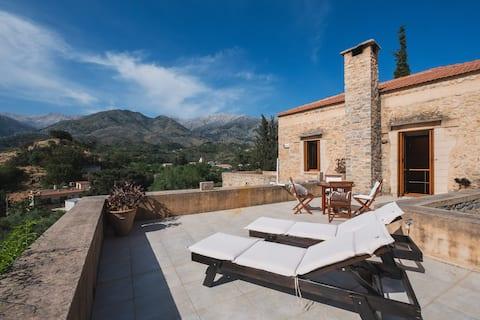 Villa Kalogra  - Architect villa w. Amazing views