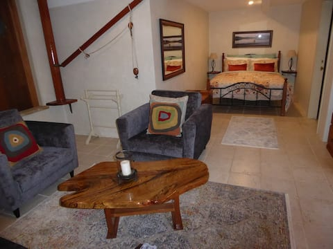 Large Queen Studio with Private Entrance