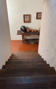 Tengo escaleras a las habitaciones