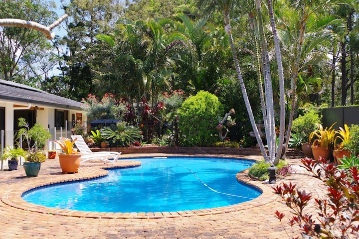 Country retreat close to Byron Bay.