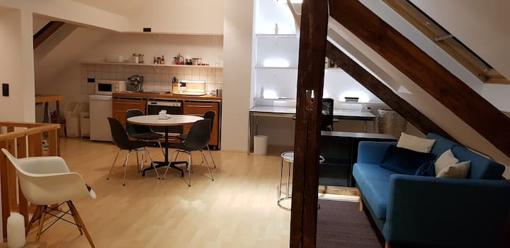 Large Studio, central Düsseldorf