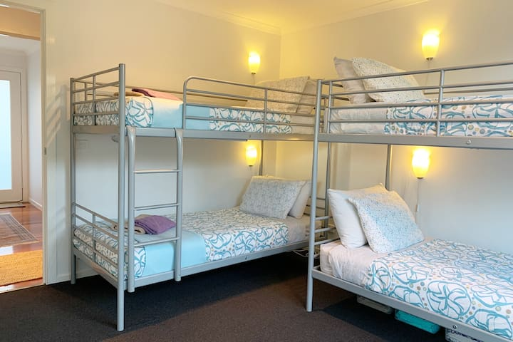 B2 - Have 2 x double bunks. Great for singles, teens and school aged kids.