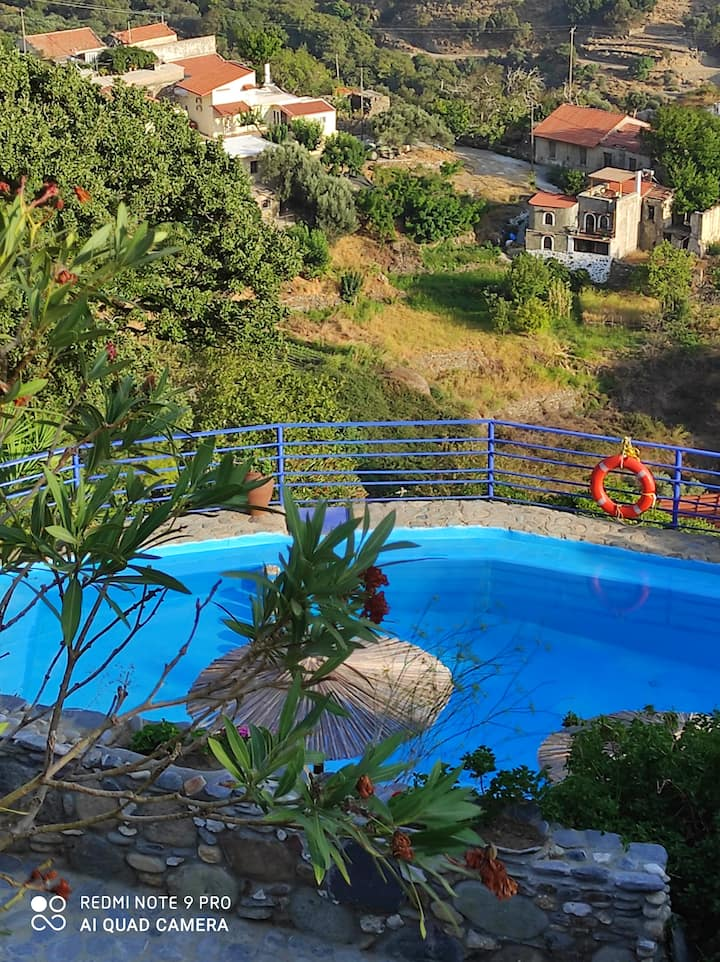 Velanos villas(villa Lito) 15min to Elafonisi