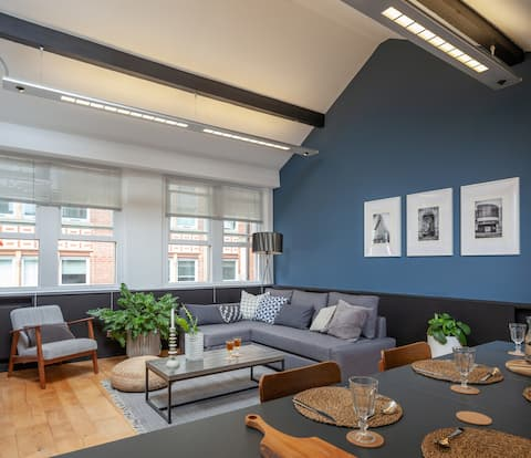 Stunning loft in N QTR ideal base 4 city life