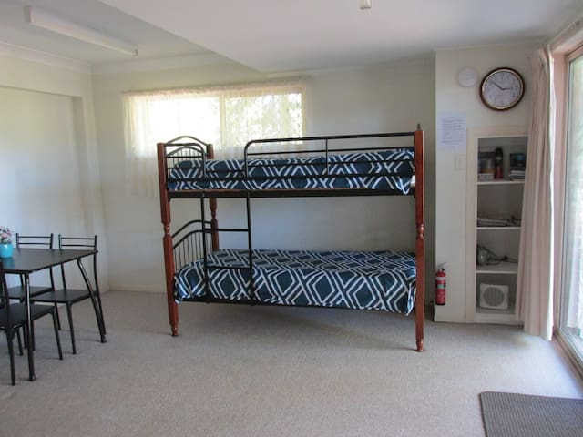 1 set of Bunk Beds in Lounge/Living Area. # Only available when booked and paid for.