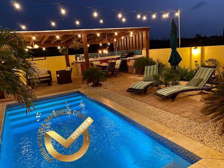 Villa Sol: Modern and Cozy 1BR Apt w Pool ☀️🌴