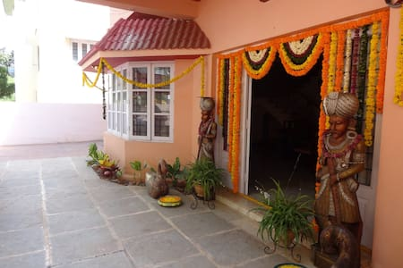 Entrance to our villa.