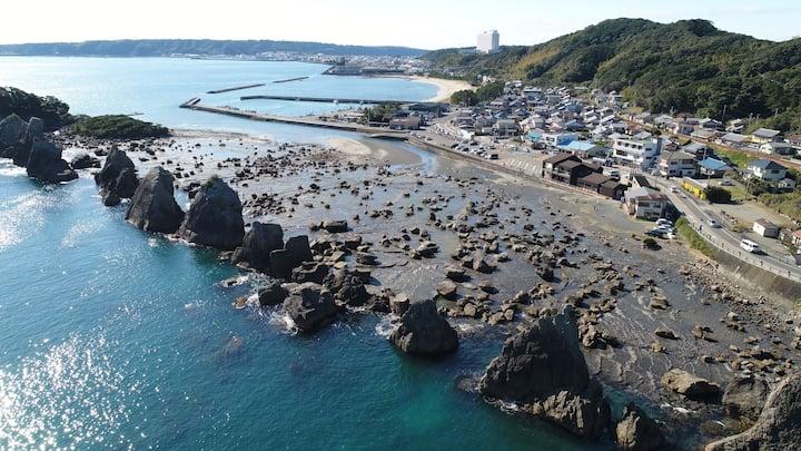 和歌山県 本州最南端の町 串本 Guest house Branchee