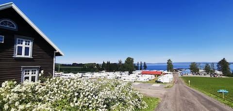 Glamping i panoramahytte ved Mjøsa (#2)
