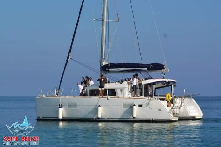 Sailing Catamaran Yacht - Xsite Belize Sailing