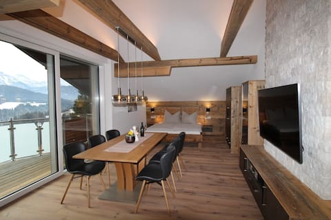 Luxury Appartement in the alps f. 2-5 people