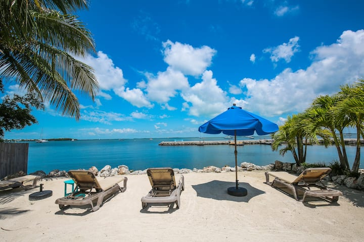 Beachfront Key Largo Cottage! Amazing water views!