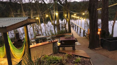 ⭐️ Idyllic Riverside setting with jetty - Wow!
