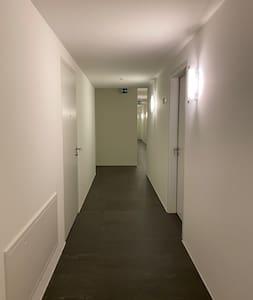 Corridoio di accesso all'appartamento e alla zona wellness