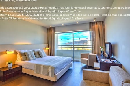 Suite T1 Premium Sea View Aqualuz TroiaRio 4****