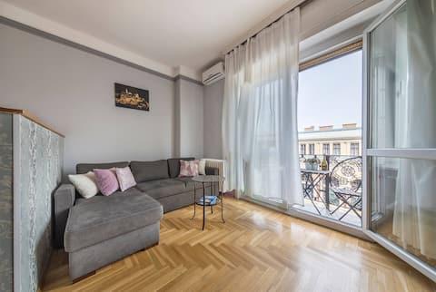 Astoria apartment with the balcony.