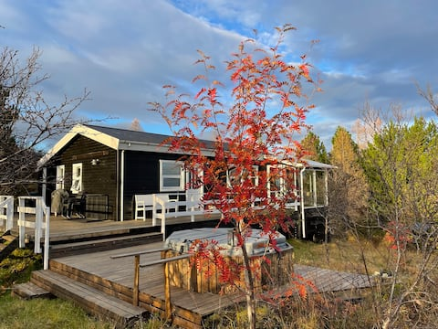 Private Cottage close to Geysir & Gullfoss Falls