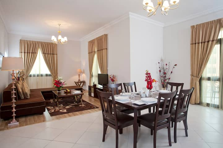 Two Bedroom Apartment - Al Waleed Palace Hotel Apt