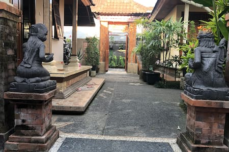 Middle family compound path/areas to your space