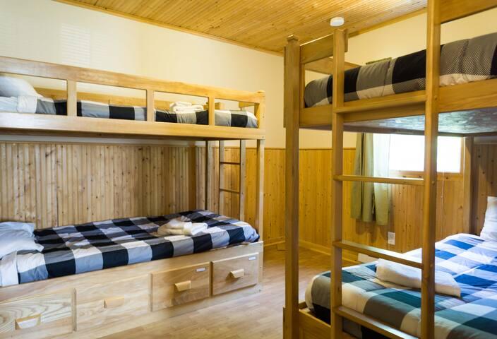 2 chambre 4 places