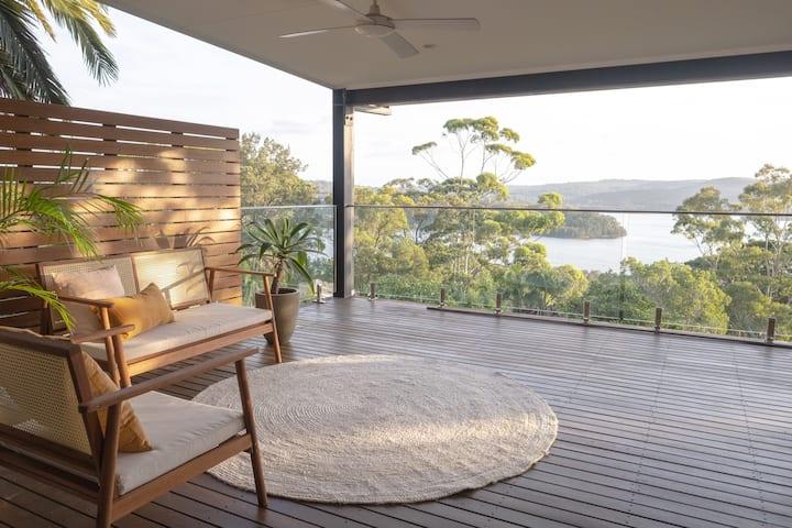 Maison avec vue sur le lac - plages du nord