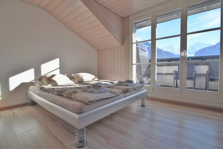 Room with view on the mountains
