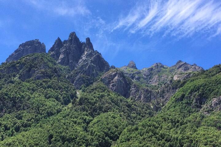 Puesco Escape Mountain Lodge Cabin