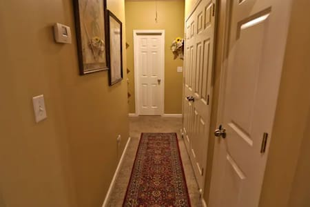Wide entrance to hallway