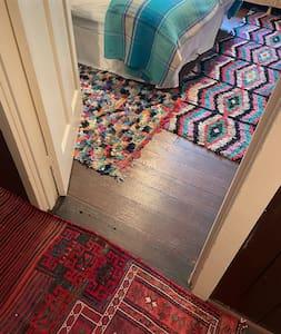 no steps once inside flat