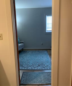 Doorway to bedroom.
