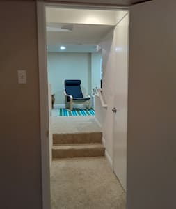 Entrance from living area