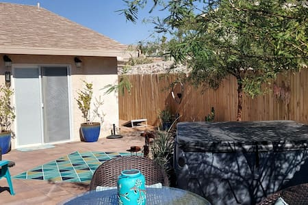 Backyard in all brickand has no steps or stairs.