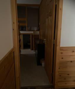 Bedroom 1 wide door