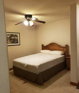 Open access to bedroom. No door to enter room