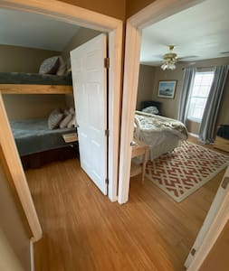 """All doors to bedrooms are 36"""" wide"""
