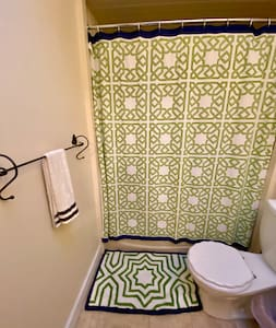 Bathroom on upper floor and two bedrooms need  no stairs once inside front door. Lower floor rooms accessible via side path with no stairs !