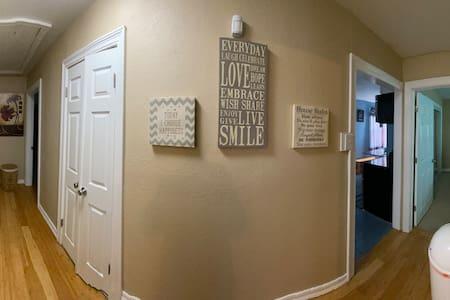 Hallway to all bedrooms