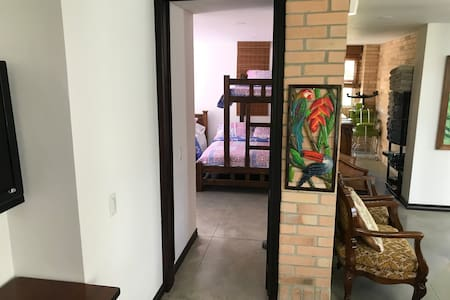 Access to 4th bedroom on the 1st floor.