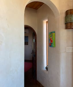 Entry to master bedroom.