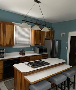 Kitchen entrance from formal dining