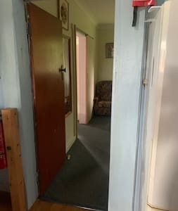 Entrance to downstairs bedrooms.