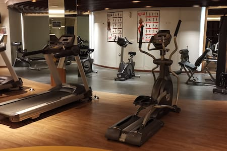 Fitness centre at Club house