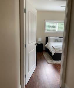 Bedroom door entrance is 35 inches wide