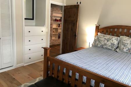 Master Bedroom is roomy